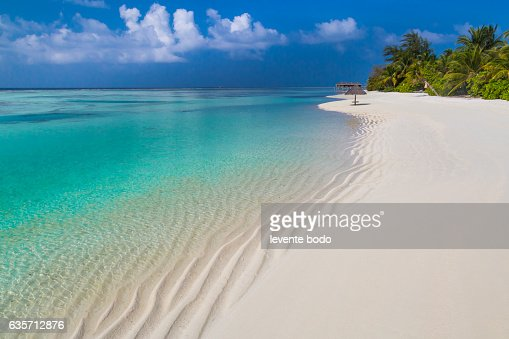 Tropical Island Beach Ambience Sound: Maldives Paradise Beach Perfect Tropical Island Beautiful