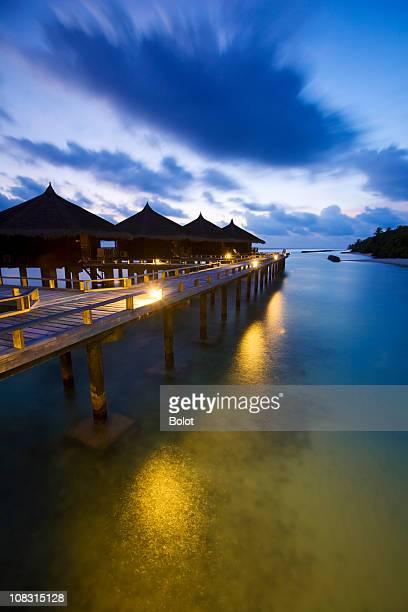maldives - tourist resort stock pictures, royalty-free photos & images