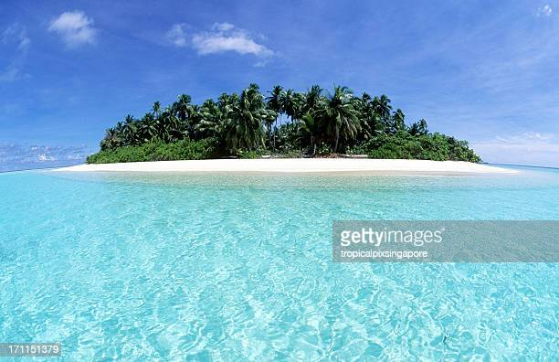 Malediven, southern Atolle, Island.