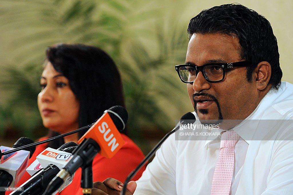 MALDIVES-VOTE : News Photo