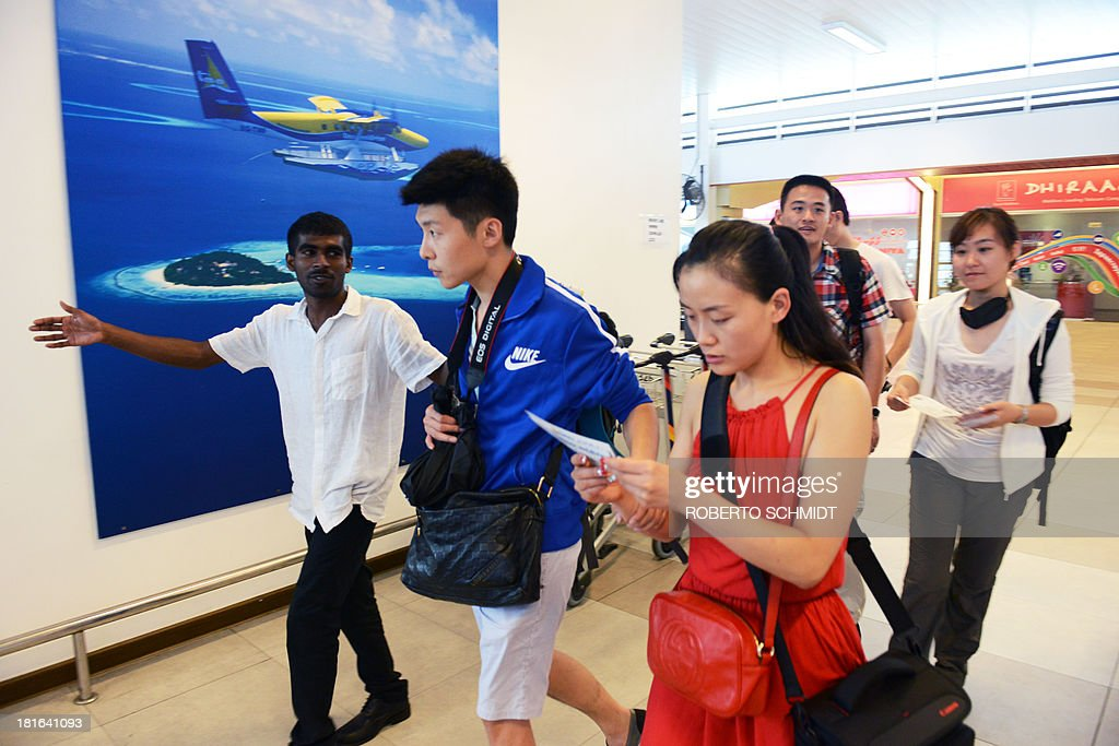 MALDIVES-INDIA-CHINA-TOURISM-DIPLOMACY : News Photo