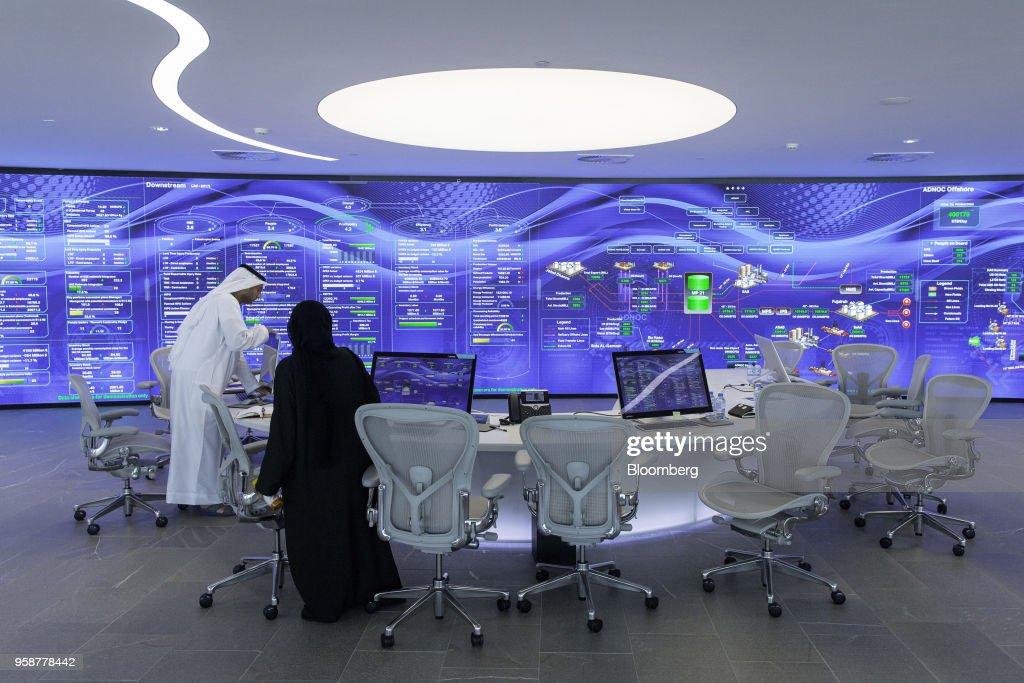 Abu Dhabi National Oil Co. Headquarters And Ruwais Refinery : News Photo