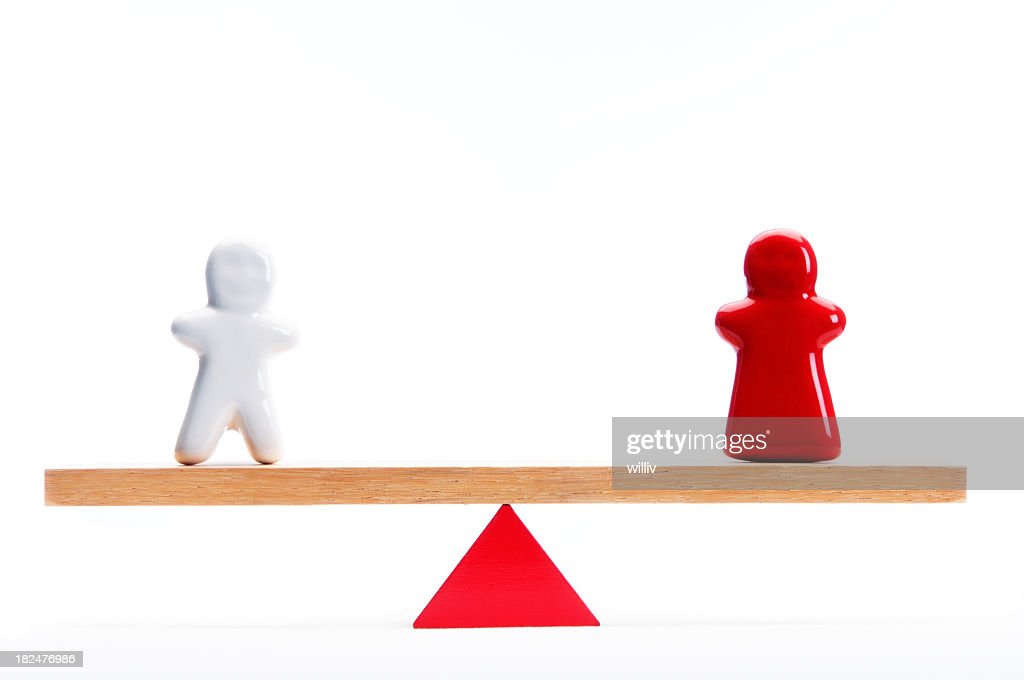 Male And Female Symbols On A Lever Stock Photo Getty Images