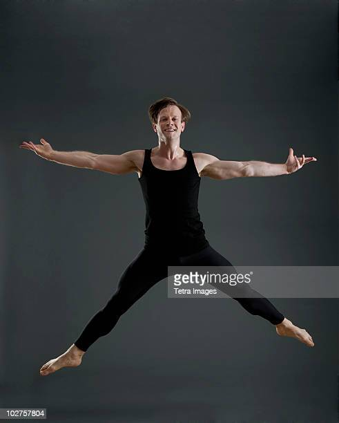 male ballet dancer - leotard stock pictures, royalty-free photos & images