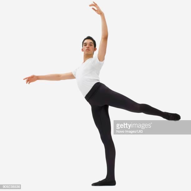 male ballet dancer - タイツ ストックフォトと画像