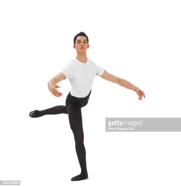male ballet dancer - pantimedias fotografías e imágenes de stock
