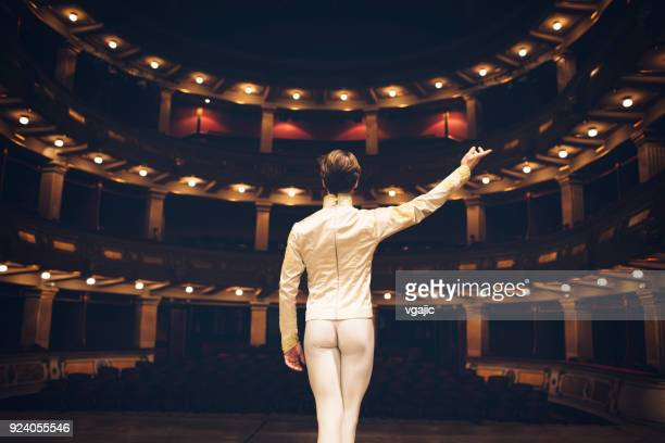 male ballet dancer - performance stock pictures, royalty-free photos & images