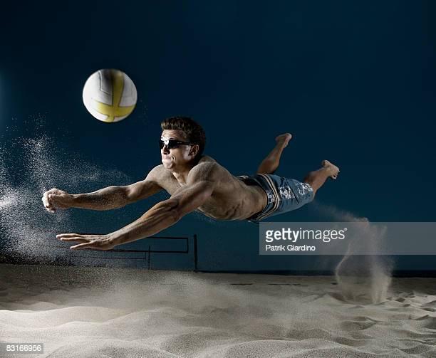 Male Beach Volleyball
