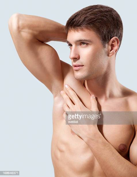 male beauty. - male armpits stock pictures, royalty-free photos & images