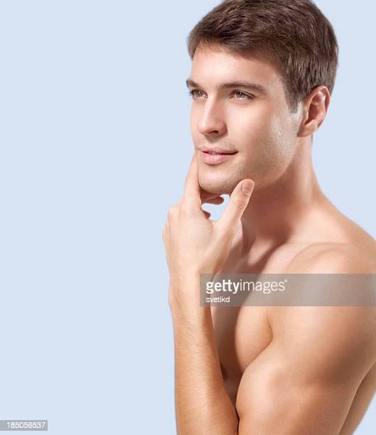 Männliche Schönheit.