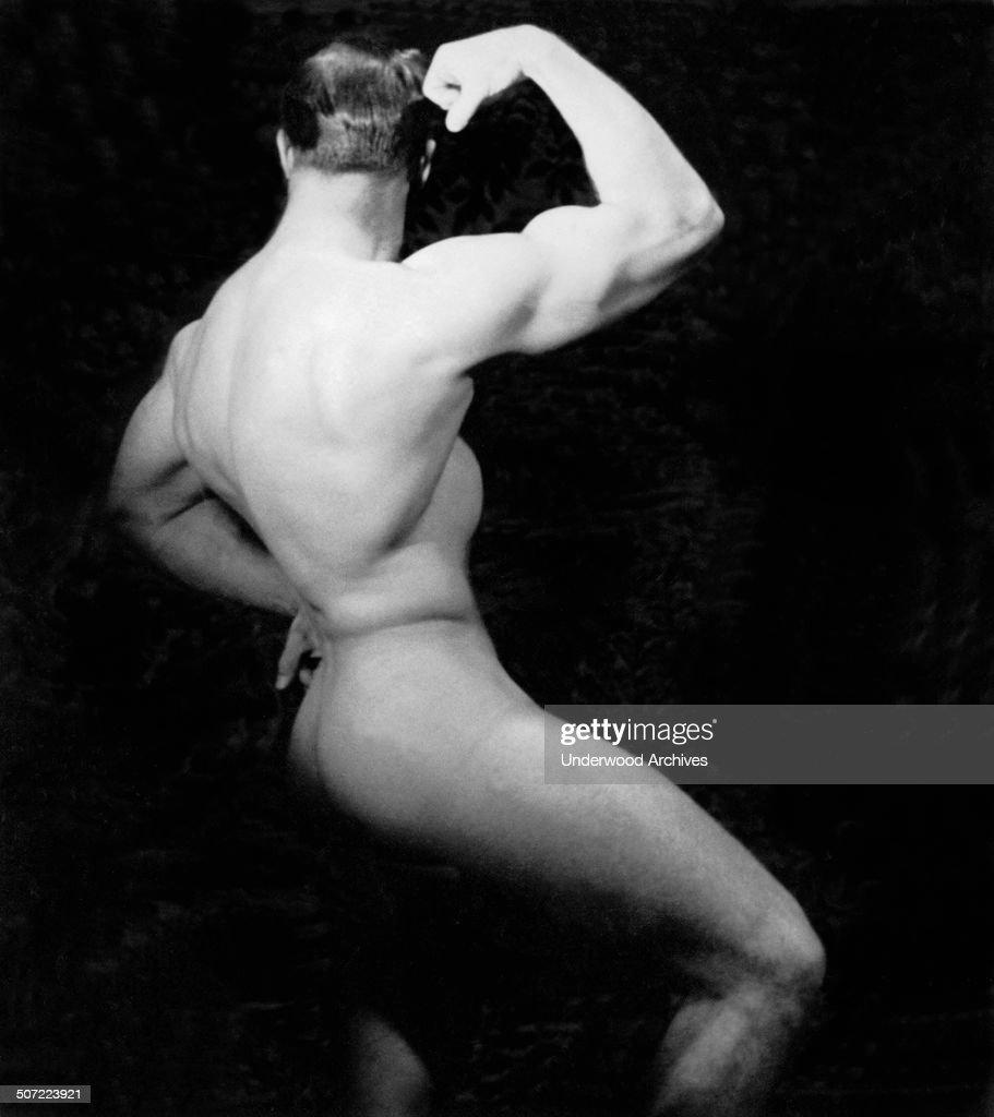White male bodybuilders nude #5