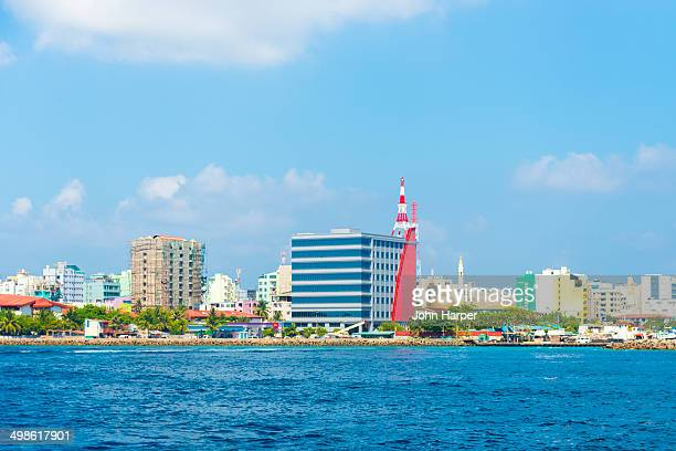 male capital of the maldives - male maldives stock pictures, royalty-free photos & images