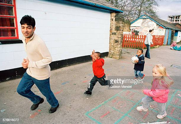 uk - male care workers - emigration and immigration stock pictures, royalty-free photos & images