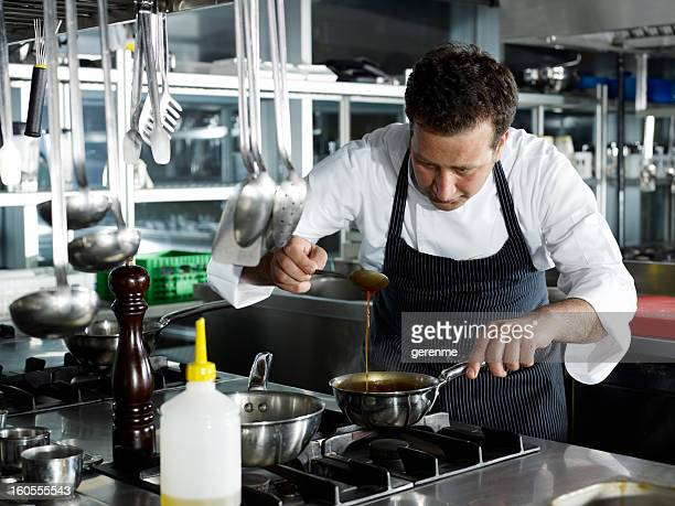 Male Chef Cooking