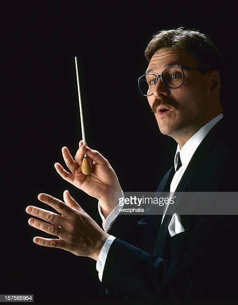 Mâle chef d'orchestre