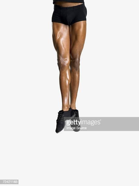 Macho bailarines piernas