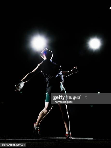 Male discus thrower