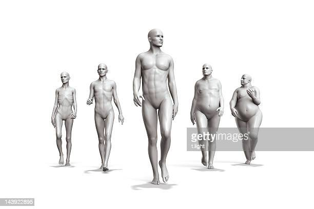 male diversity - underweight stock photos and pictures