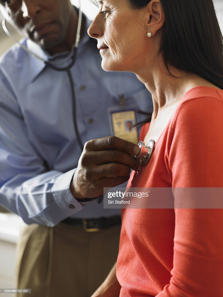 female examining Male doctor
