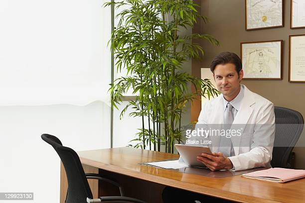 Male Doctor in modern office
