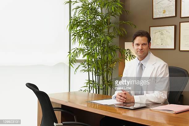 Male Doctor in modern office