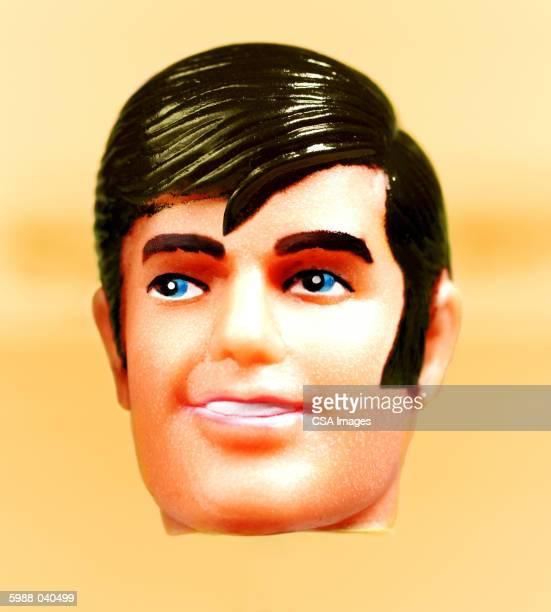 Male Doll's Head