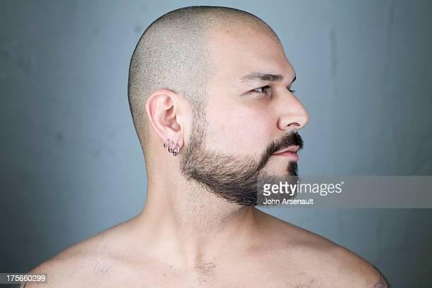 male, ethic, gay, portrait, studio, real person