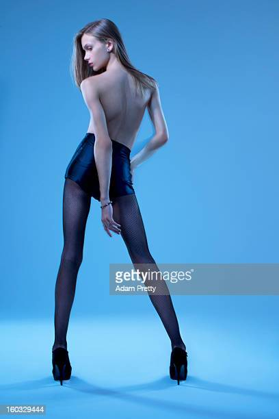 Male fashion model Stav Strashko whose androgynous looks have garnered him with major brand advertising campaigns is photographed for Sunday Times...