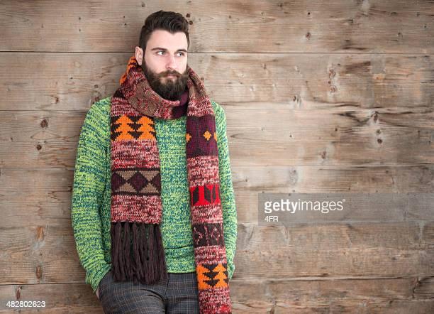 macho moda - echarpe - fotografias e filmes do acervo