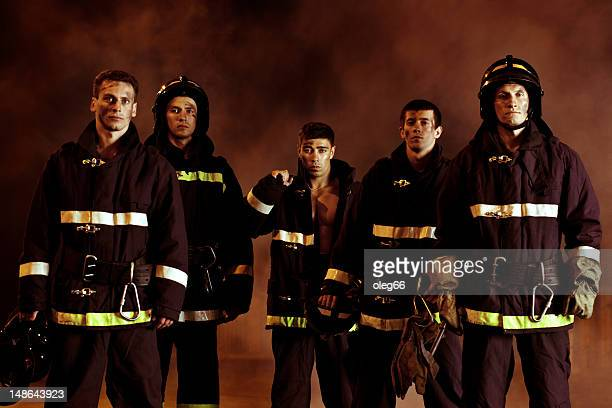 male firefighter - fire station stock photos and pictures