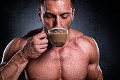 Male fitness athlete