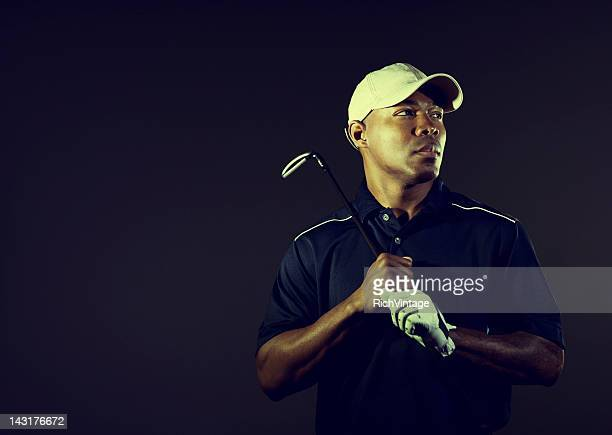 male golfer - golfer stock pictures, royalty-free photos & images