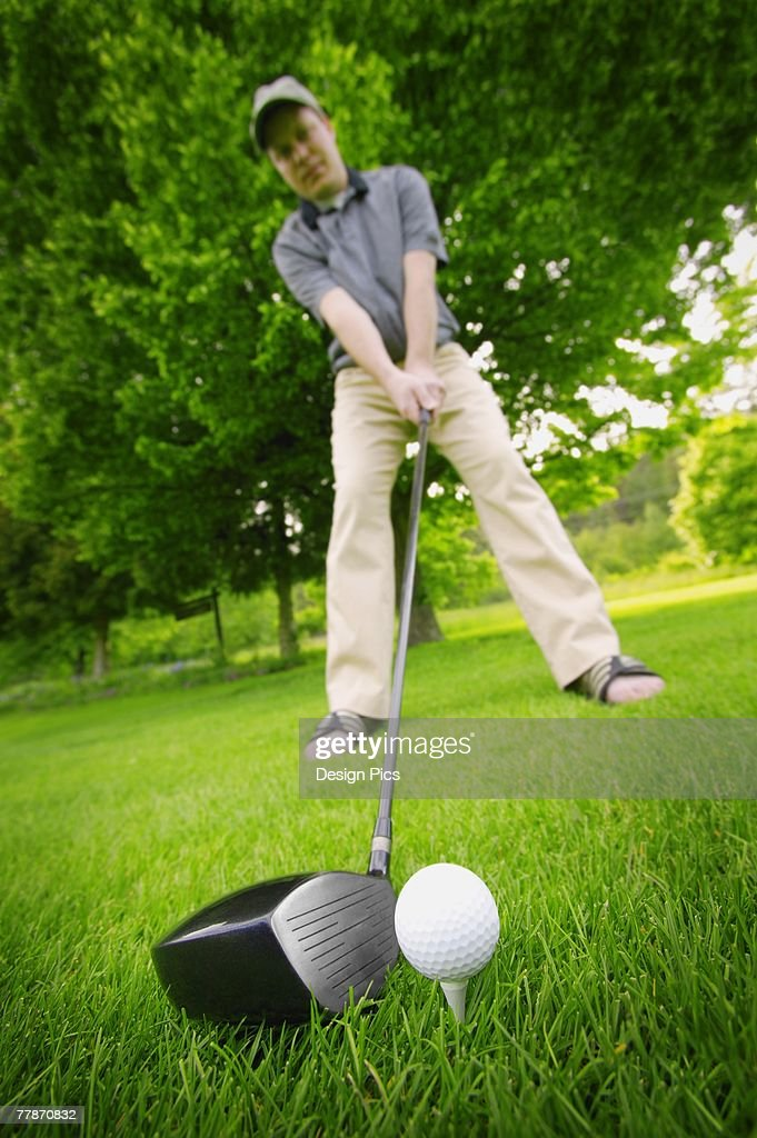 ボールの位置はボール1個分左に