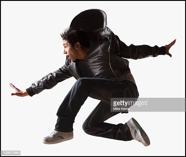 Male hip hop dancer