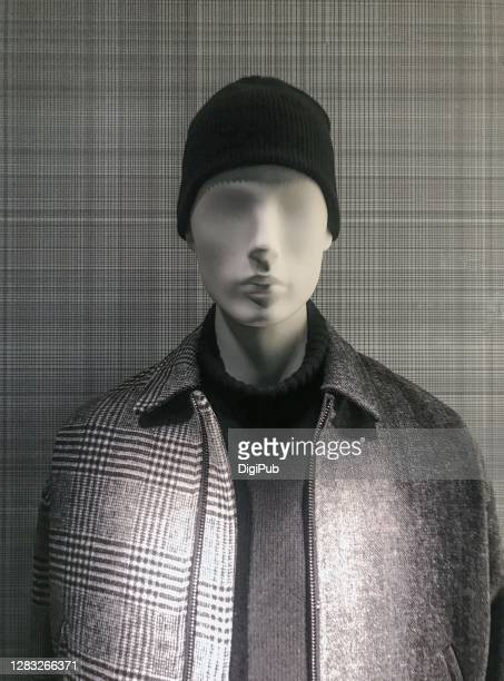 male like mannequin in casual clothing - 実物大 ストックフォトと画像