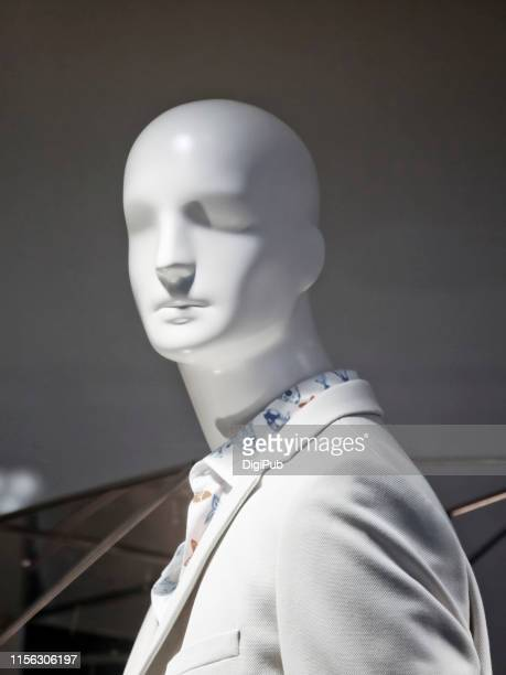 male like mannequin in casual suit - mannequin stock pictures, royalty-free photos & images
