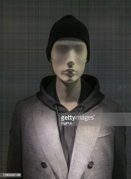male like mannequin in casual suit - 実物大 ストックフォトと画像