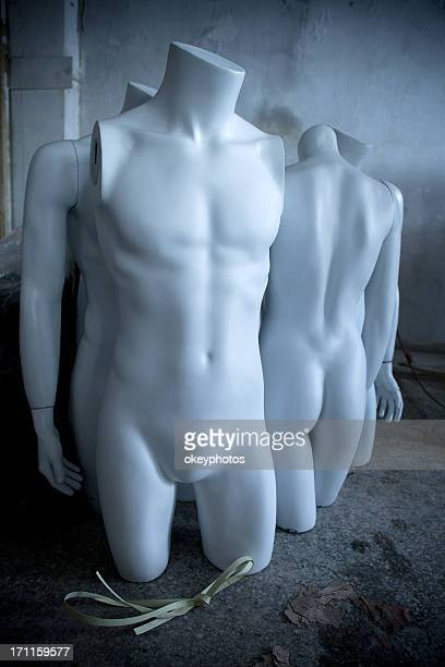 male mannequins breast