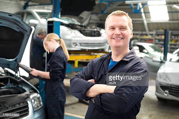 Male Mechanic