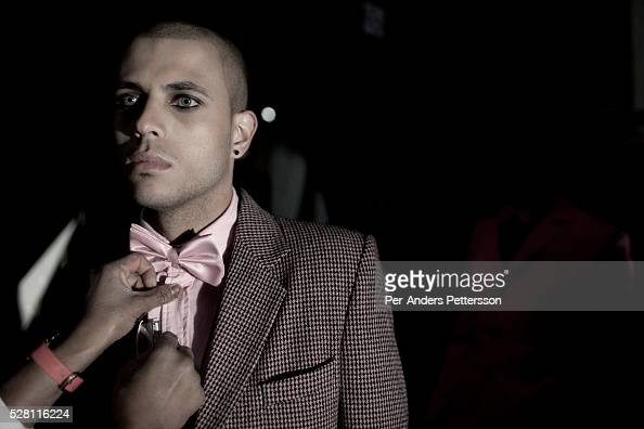 A Male Model Prepares Backstage Before A Fashion Show At South Africa News Photo Getty Images