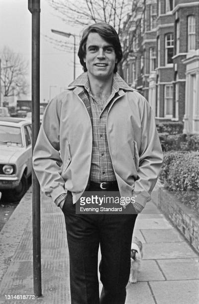 Male model wearing a casual jacket, UK, 6th March 1974.
