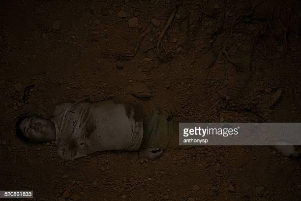 CSI male murder victim buried