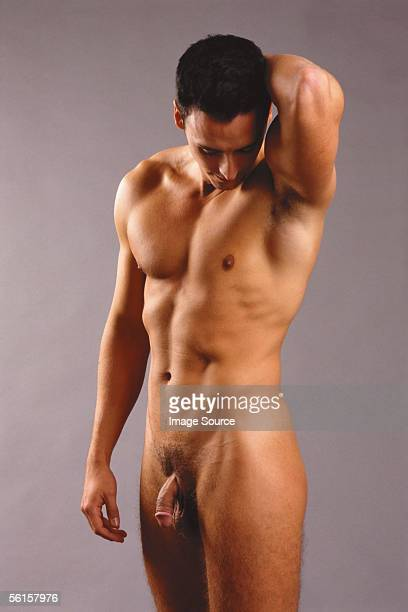 male nude - hommes nus photos et images de collection