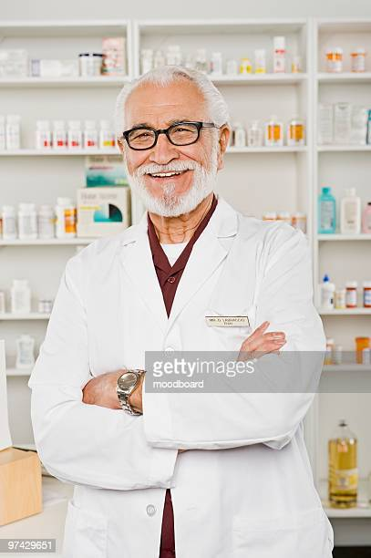 Male pharmactist, portrait
