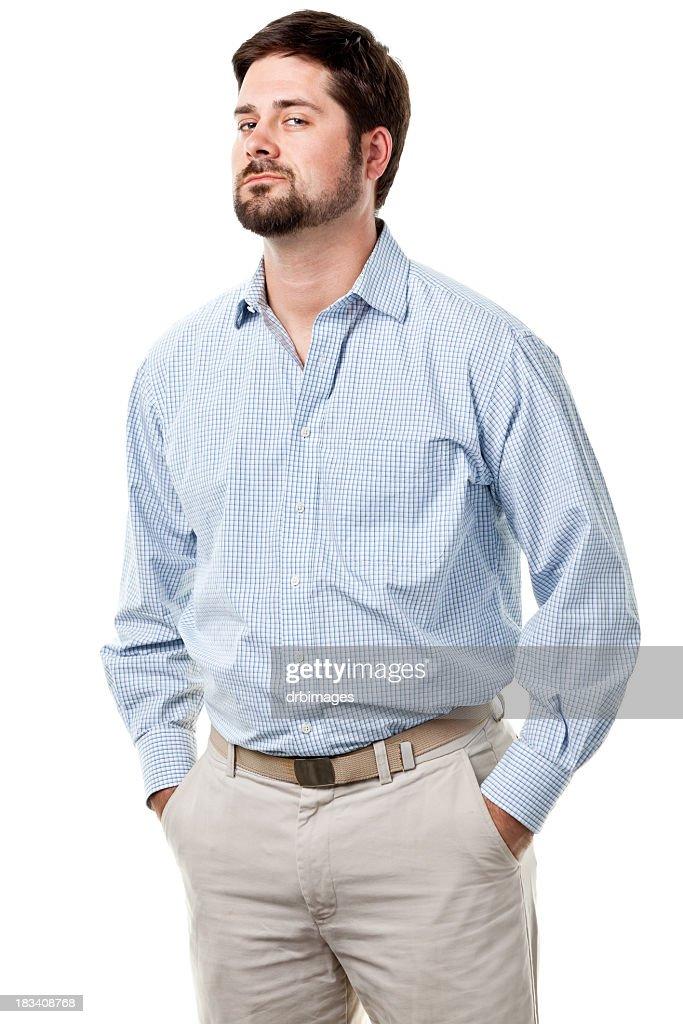 Male Portrait : Stock Photo
