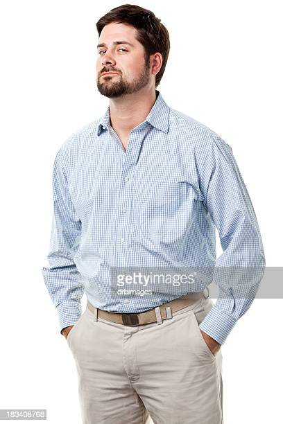 male portrait - three quarter length stock pictures, royalty-free photos & images