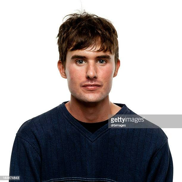 male portrait - 20 29 years stock pictures, royalty-free photos & images