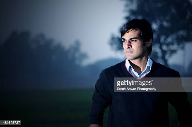 male portrait - punjab pakistan stock photos and pictures