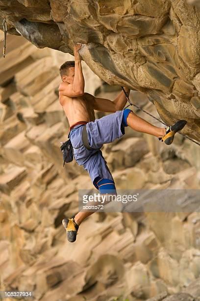 Male Rockclimber