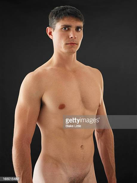 Male Shirtless Portrait nude waist up